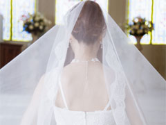 妊娠発覚と結婚式の画像